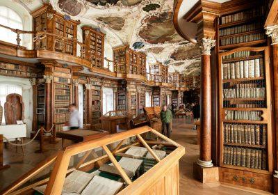 Barocksaal der Stiftsbibliothek St. Gallen; Foto: Stiftsbibliothek St. Gallen