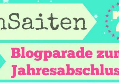 Jahresrückblick 2017; buchsaiten blogparade no. 7