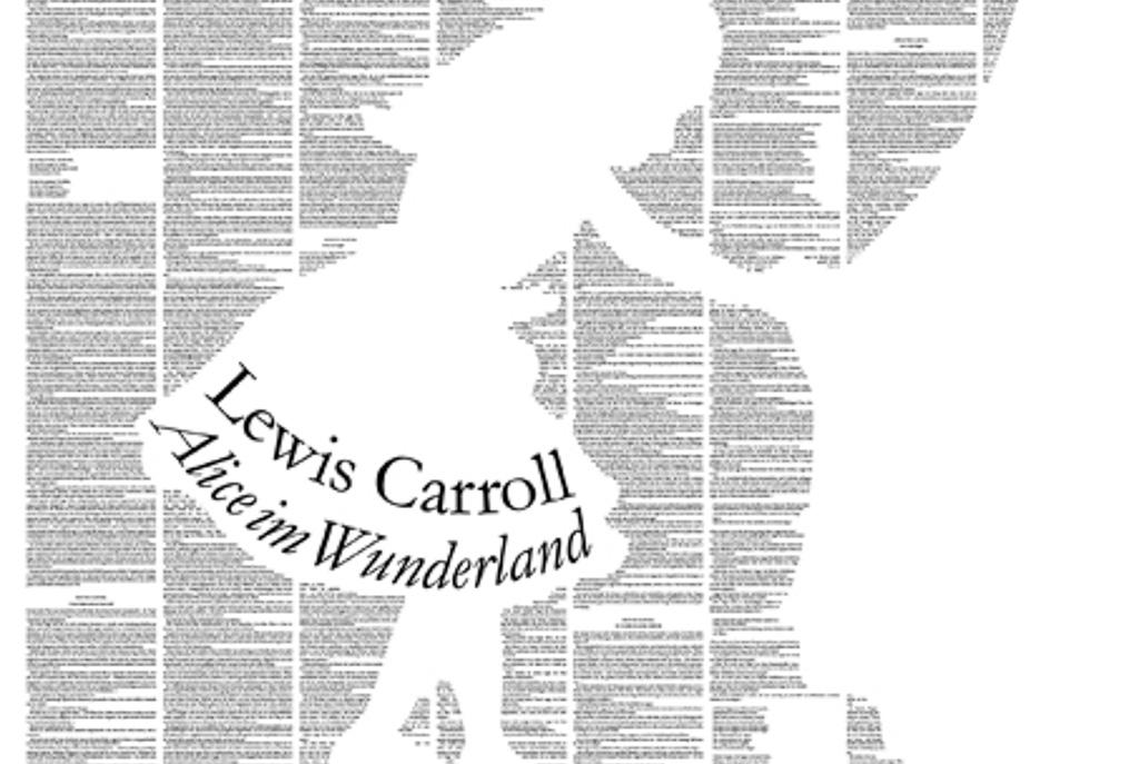 """Ausschnitt aus dem Wandroman """"Alice im Wunderland"""" aus dem DuMont Verlag"""