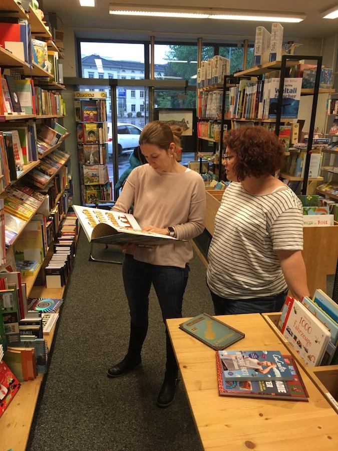 Damaris und Nicole auf der SaxNight; Foto: Bettina Schnerr