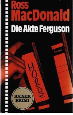 Ross Macdonald - Die Akte Ferguson