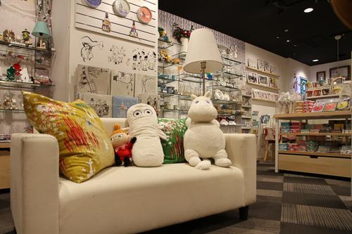 Moomin Shop in Futakotamagawa, Tokyo; Foto: Bettina Schnerr