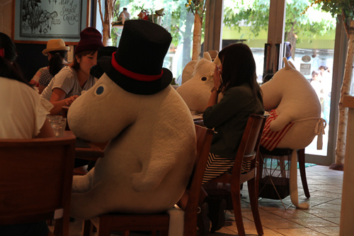 Moomin Cafe in Tokyo Dome, Tokyo; Foto: Bettina Schnerr