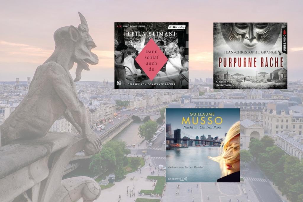 Frankreich-Special 2017: Hörbuchtipps von Melanie Richter; Foto: Pedro Lastra