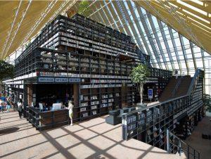 Bibliothek Boekenberg Spijkenisse, Niederlande. Architekten: MVRDV, Rotterdam; Foto: Jeroen Musch