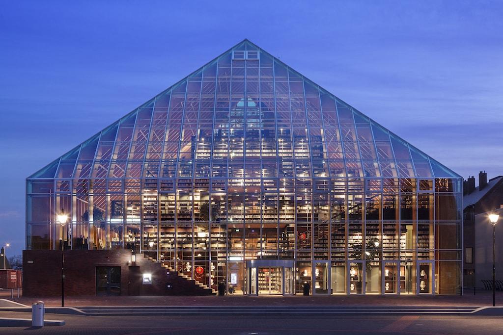 Bibliothek Boekenberg Spijkenisse, Niederlande. Architekten: MVRDV, Rotterdam; Foto: Daria Scagliola und Stijn Brakkee