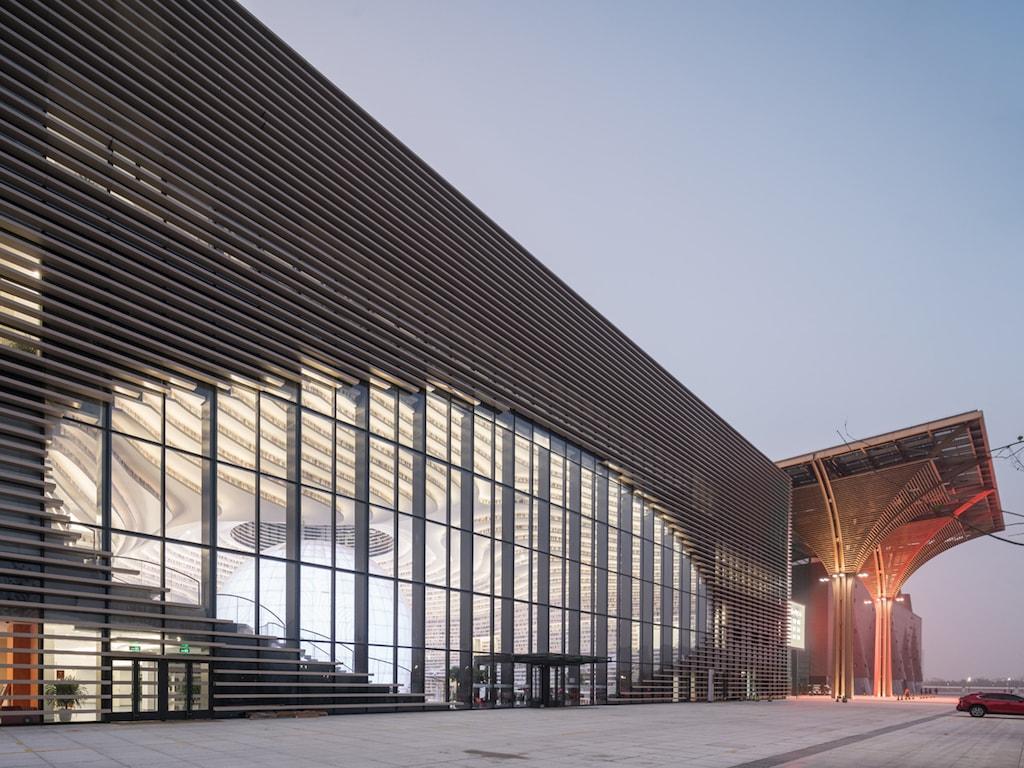 Tianjin Library, China; Architekten: MVRDV, Rotterdam; Foto: Ossip van Duivenbode