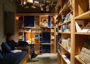 Book & Bed Tokyo; Location: Kyoto.