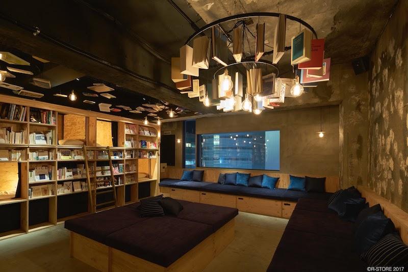 Book & Bed Tokyo; Location: Tokyo.