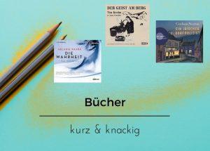 Kurz & knackig Episode IV: mit Tim Krohn, Graham Norton und Melanie Raabe