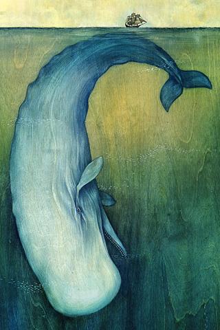 Moby Dick (Lisel Jane Ashlock); Wallpaper bei Poolga
