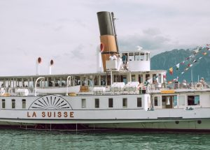Schwiizer Wuche: Schweizer Literatur im Fokus. Titelbild: Samuel Zeller