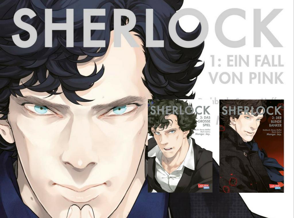 Sherlock. Manga-Serie nach der BBC TV-Serie. Artist: Jay.