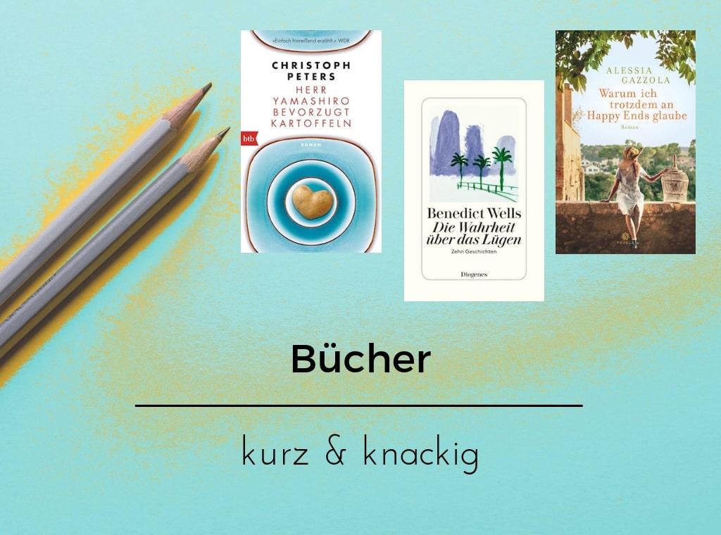 """Header zu """"Bücher kurz & knackig, Episode V"""""""