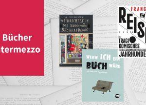 Bücher Intermezzoe VII, dieses Mal mit Petra Hartlieb, Francis Nenik sowie José Jorge und André Letria