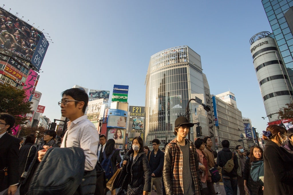 Shibuya Crossing, Tokyo. Foto: Jason Ortego, unsplash