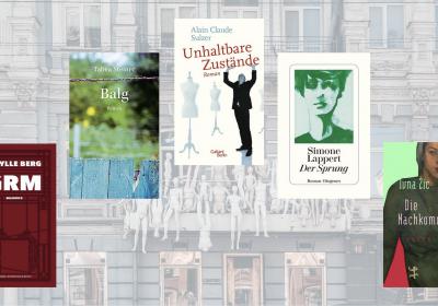 Schweizer Buchpreis 2019; Header zum Blogbeitrag über die fünf Nominierten. Hintergrundfoto: Marjan Blan, unsplash