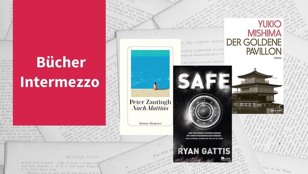 Intermezzo XII mit Büchern von Peter Zantingh, Ryan Gattis und Yokio Mishima