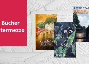 Intermezzo XVII mit Büchern vom Peter Stamm, Lukas Maisel und Gian Maria Calonder