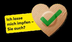 """""""Ich lasse mich impfen"""" Motiv aus der Corona-Impfkampagne des BAG"""